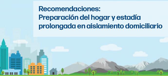 Plan de acción para la preparación del hogar para el aislamiento en casa