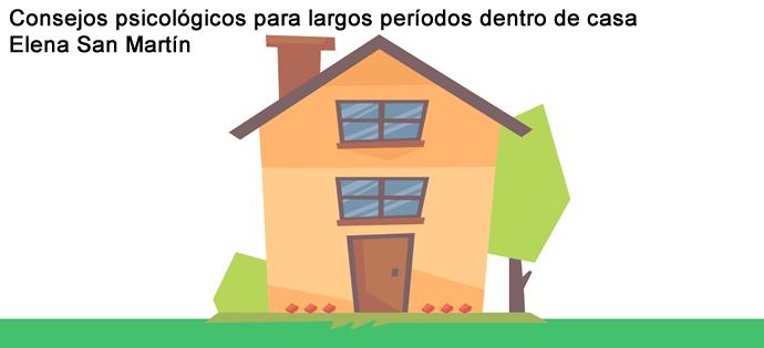 Consejos psicológicos para largos períodos dentro de casa